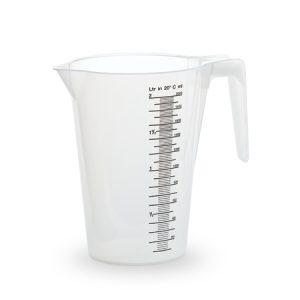 Les verres doseur 2 litre
