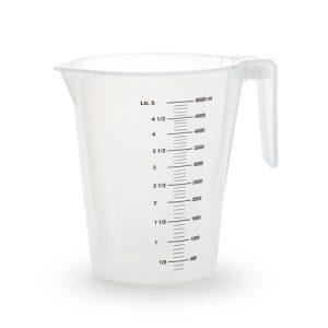 Les verres doseur 5 litre
